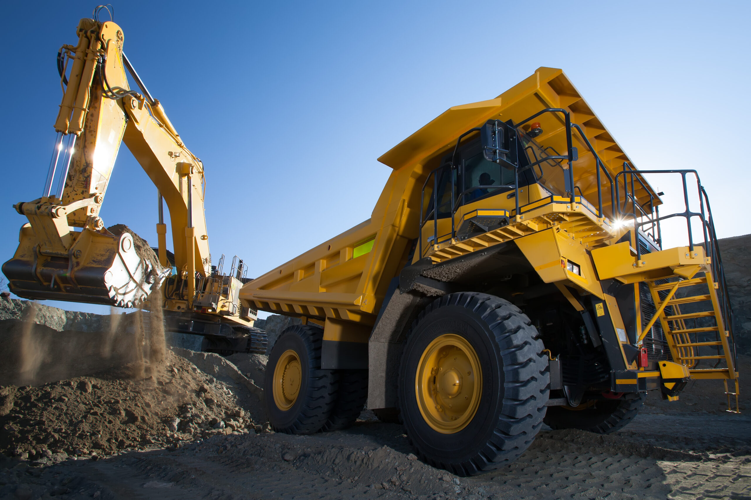 A/C/E Coatings Solutions Earth moving equipment